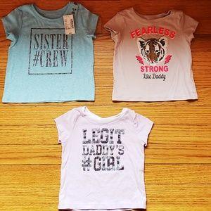 3 t-shirt lot